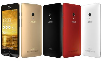 Asus Zenfone 4, 5 and 6 slated to Receive Android 5.0 Lollipop Update in May