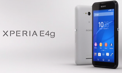 Sony launches the LTE'D version of the Xperia E4, enter the E4G