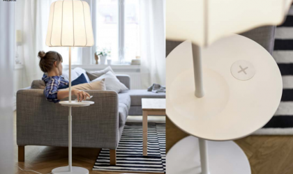 IKEA Intros Furniture with Inbuilt Wireless Charging, U.S. Launch in Late Spring