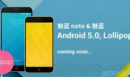 Meizu Reveals Android Lollipop Update Roadmap for M1 Note, MX4, MX4 Pro, MX3 and MX2