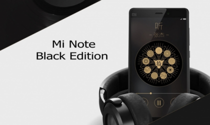 Xiaomi Mi Note Black Edition Announced for $400
