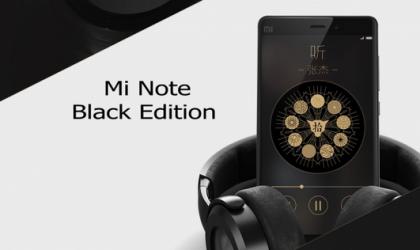 Xiaomi Mi Note Black Edition Announced for $400