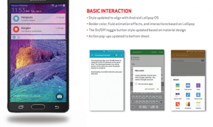 Verizon Galaxy Note 4 Receives Android 5.0 Lollipop Update