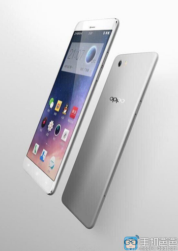 Latest Image of Oppo R7 Leaks Hinting at All-Metal and Thin Design