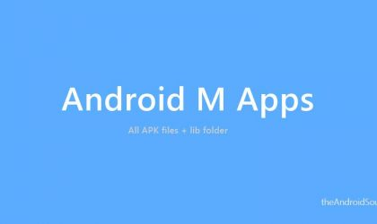 Download Android M Apps (APKs) from System Dump