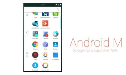 Download New Android M Launcher with new Google Search APK
