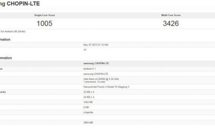 Samsung tablet spotted on Geekbench, rumored to be the elusive Galaxy Tab S2