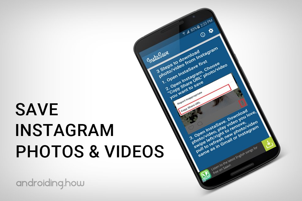 Download and Save Instagram Photos and Videos using
