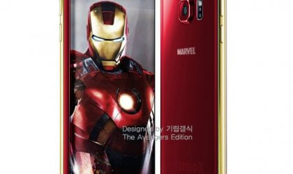 Samsung teases the Galaxy S6 edge Iron Man edition