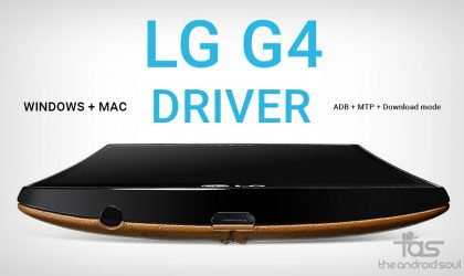 Download LG G4 Driver for Windows and Mac (MTP + ADB + Download mode)