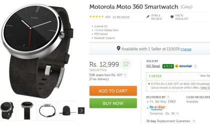 All you Moto 360 fans out there, Now is your chance!!