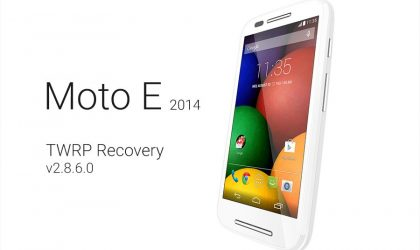 Latest Moto E (2014) TWRP recovery v3.0