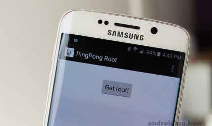 How to Root Verizon Galaxy S6 with PingPong Root