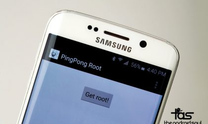 How to Root Verizon Galaxy S6 G920V with PingPongRoot tool