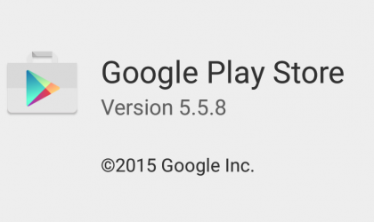 Download Play Store APK 5.5.8 with new features and animations