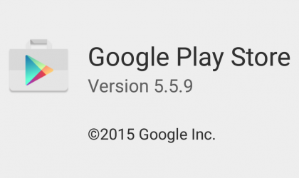 Download Google Play Store APK 5.5.9, a minor bug-fixer update
