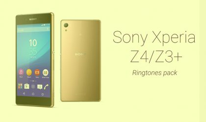 Download Sony Xperia Z4/Z3+ Ringtones