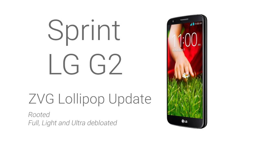 Sprint Lollipop update ZVG