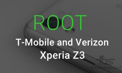 How to Root T-Mobile Xperia Z3 and Verizon Xperia Z3v