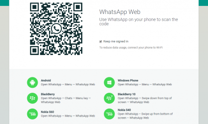 Whatsapp Web QR Code Not Scanning? Well, you may not be doing it right