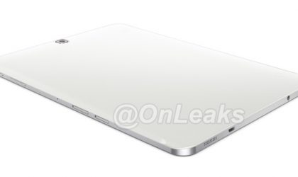 Alleged Samsung Galaxy Tab S2 Image Leaks Once Again Showing Thin Metal Frame