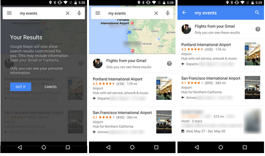 Google Maps Update Brings Support to Search for Reservations ...