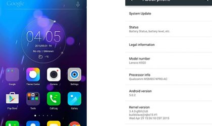 Lenovo Vibe Z2 Pro in India Gets Android 5.0.2 Lollipop Update