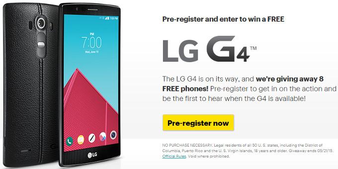 lg g4 contest