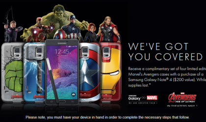 You can get 4 free Avengers cases on buying Samsung Galaxy Note 4 in the U.S.