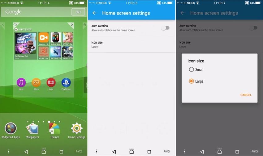 Download Sony Xperia Z4/Z3+ Launcher APK