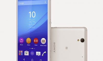 Sony Xperia C4 with 5 MP Selfie Camera and Front-Facing Flash Goes Official