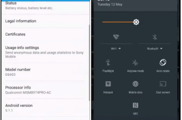 xperia z3 android 5.1.1 lollipop update
