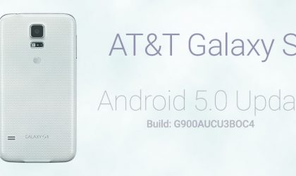 G900AUCU3BOC4: Update AT&T Galaxy S5 to Lollipop from KitKat in One Click using Odin Firmware