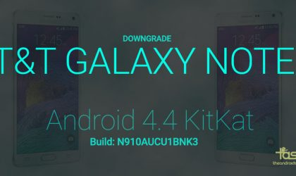 Downgrade AT&T Galaxy Note 4 to KitKat Android 4.4 build N910AUCU1BNK3