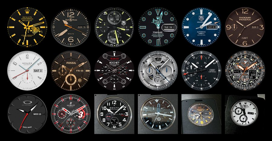 Get these brilliant LG G3 Watchfaces!