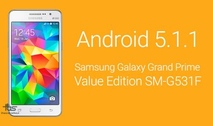 Samsung Galaxy Grand Prime Value Edition to come with Android 5.1.1 pre-installed?