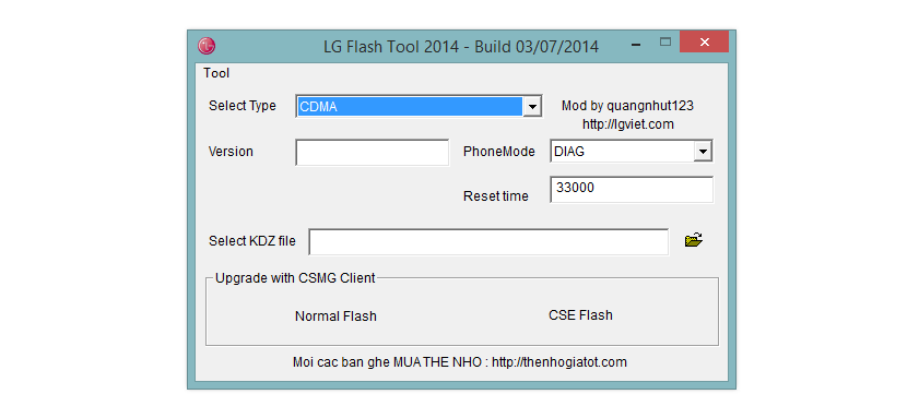 How to Fix LG Flashtool problem when it stops at 4% while