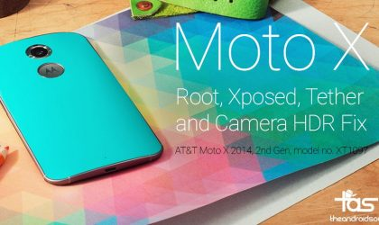 AT&T Moto X 2014 gets Lolliopop Root with Xposed, Tethering and HDR Camera Fix in new Mofo flashable image
