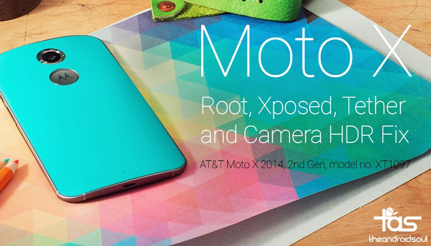AT&T Moto X 2014 gets Lolliopop Root with Xposed, Tethering and HDR