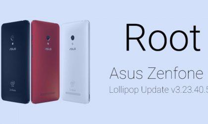 How to Root Zenfone 5 Lollipop update (Android 5.0 build v3.23.40.52)