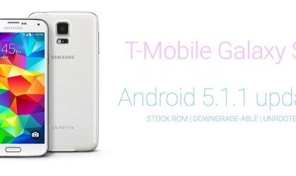 Safely Update T-Mobile Galaxy S5 to Android 5.1 OF6 Update, supports downgrade and root thereafter