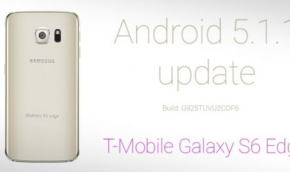 G925TUVU2COF6: Download T-Mobile Samsung Galaxy S6 Edge Android 5.1.1 Update [Odin TAR] [Official]