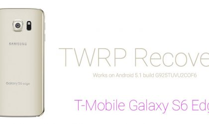 TWRP Recovery for Android 5.1.1 running T-Mobile Samsung Galaxy S6 Edge available in Alpha version