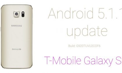 G920TUVU2COF6: Download T-Mobile Samsung Galaxy S6 Android 5.1.1 Update [Odin TAR] [Official]
