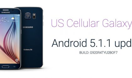 US Cellular Galaxy S6 gets Android 5.1 Update, build G920R4TYU2BOF7