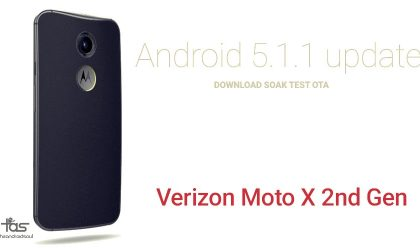 Download Verizon Moto X 2014 Android 5.1 Update OTA from Soak Test [XT1096]
