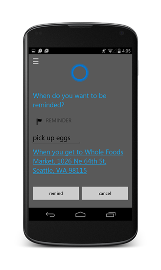 Cortana, Microsoft's Voice Assistant to Arrive on Android in July