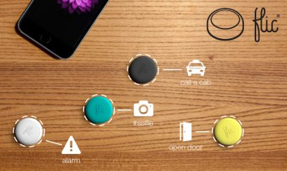 Use Flic Wireless Smart Button to Control Your Smartphone