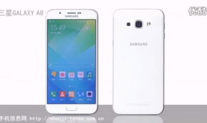 Galaxy A8 leaks in hands-on video revealing thin profile