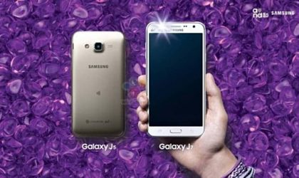 Samsung Galaxy J5 and Galaxy J7 Announced Officially with LED Flash at Front